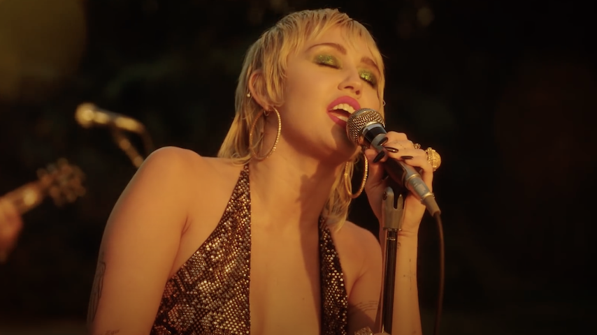 Watch Miley Cyrus Cover Pearl Jam for <i>MTV Unplugged</i>