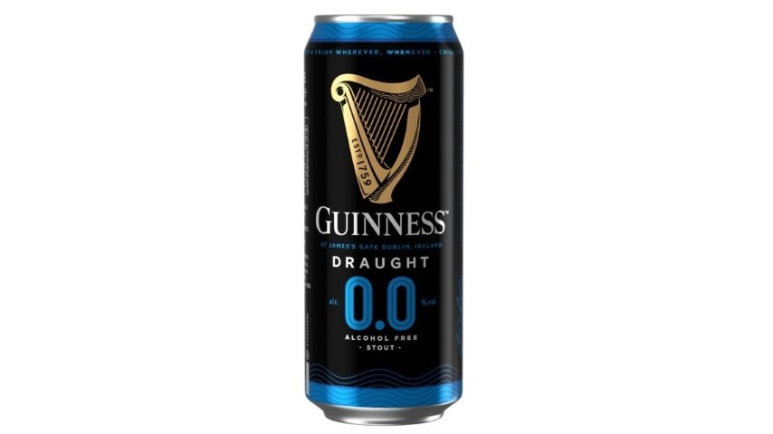 Guinness launching non-alcoholic version of the famous black stuff