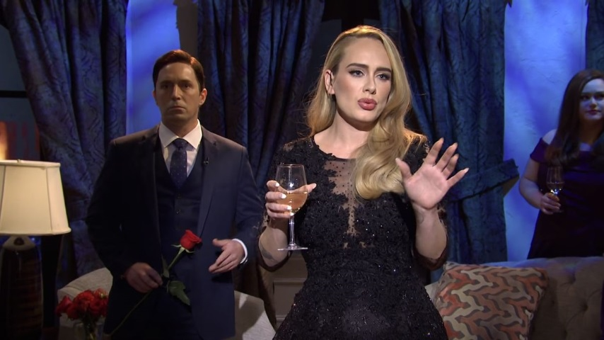 Adele Sings and Competes on <i>The Bachelor</i> in This <i>Saturday Night Live</i> Sketch