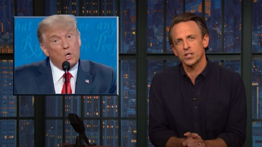Seth Meyers Takes a Closer Look at How Trump Has Given Up on the Coronavirus