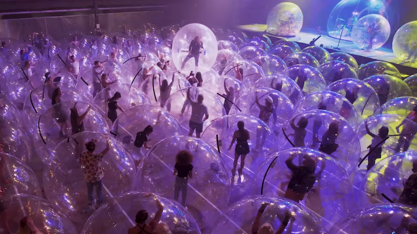 "The Flaming Lips' Bubbles Return in New ""Assassins of Youth"" Video"