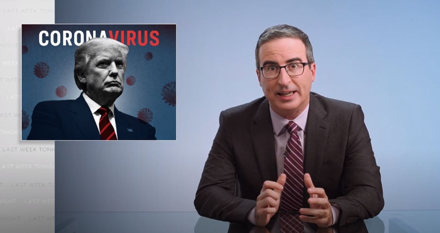 Here's a John Oliver Refresher on All of Trump's Coronavirus Lies and Failures