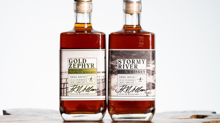 Tasting: 2 Whiskeys (Bourbon and Rye) From Peoria's JK Williams Distilling