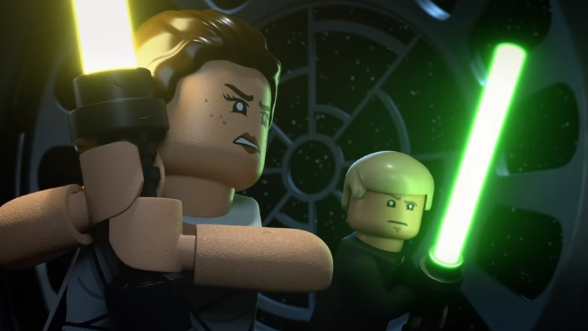 Watch the Ludicrous, Time-Traveling Trailer for <i>LEGO Star Wars Holiday Special</i>