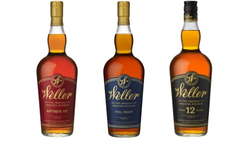 Tasting: 3 W.L. Weller Bourbon Whiskeys (Antique 107, 12 Year, Full Proof)