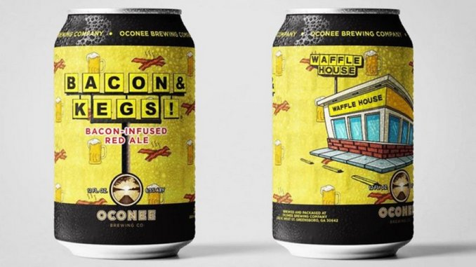 Waffle House Gets an Official, Bacon-Scented Beer
