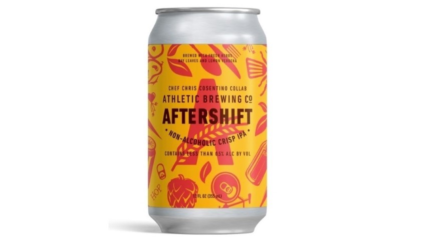 Athletic Brewing Co. Aftershift Non-Alcoholic IPA Review