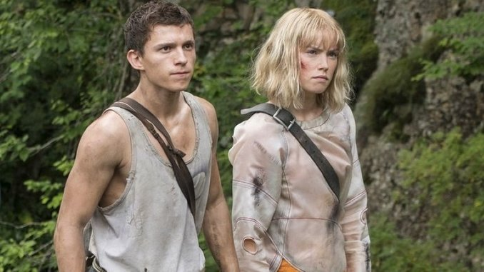 Tom Holland and Daisy Ridley Star in the First Trailer for Sci-Fi Actioner <i>Chaos Walking</i>