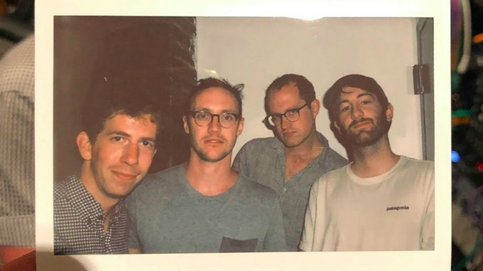 Maxband Release Debut EP <i>Top Of The Stairs</i>