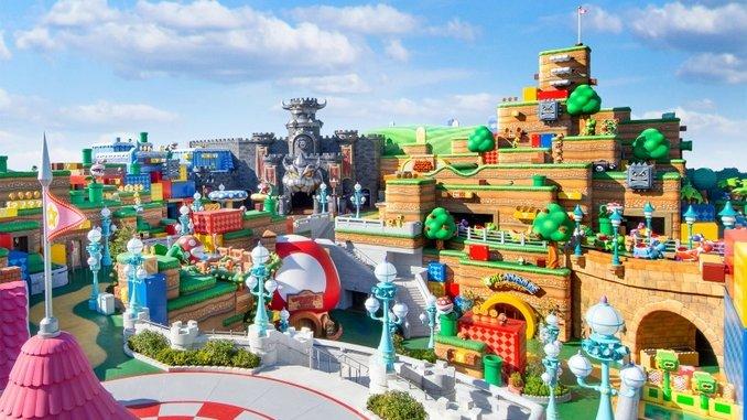 Universal's Super Nintendo World Theme Park Has an Opening Date