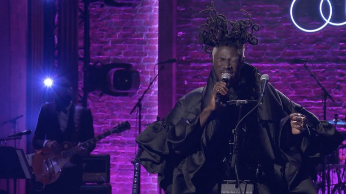 """Watch Moses Sumney Perform """"Bless Me"""" at BET's Soul Train Awards"""