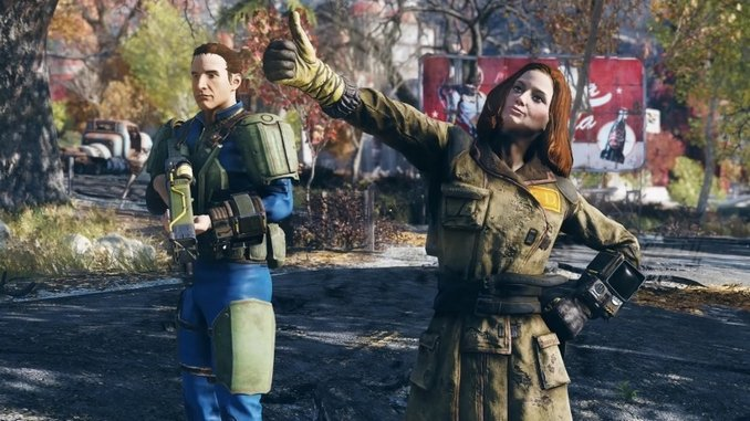 How <i>Fallout 76</i> Players Use Emotes to Build a Welcoming Community