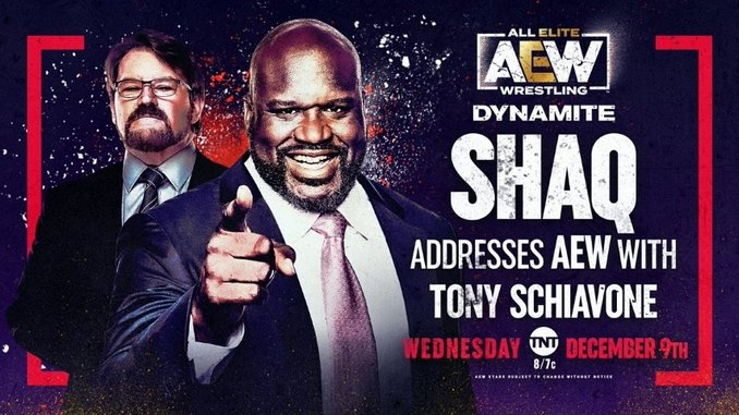 Shaquille O'Neal, Sting, and Interpromotional Intrigue Take Over <i>AEW Dynamite</i>