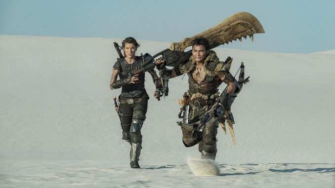 Paul W. S. Anderson and Milla Jovovich Find Familiarly Action-Packed, Schlocky Fun in <i>Monster Hunter</i>