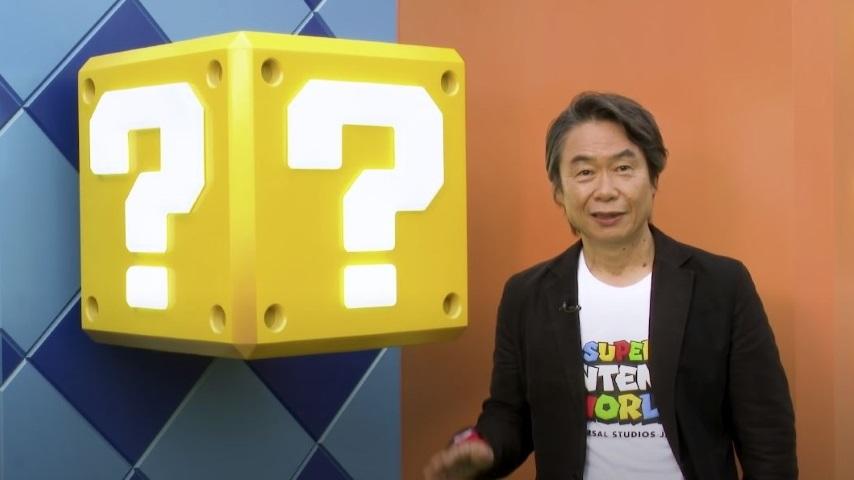 Shigeru Miyamoto Takes You on a Tour of Universal's Super Nintendo World Theme Park