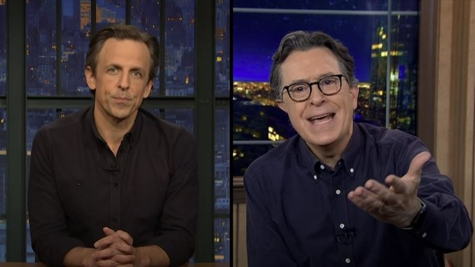 How Late Night Addressed the Caucacity of the Insurrection of the Capitol