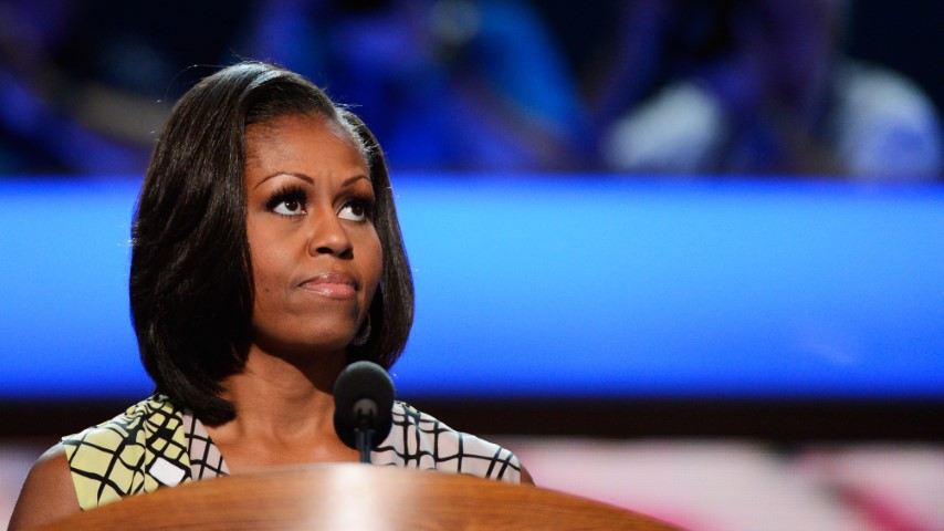 "Michelle Obama: Trump is an ""Infantile and Unpatriotic President"" Following Capitol Siege"