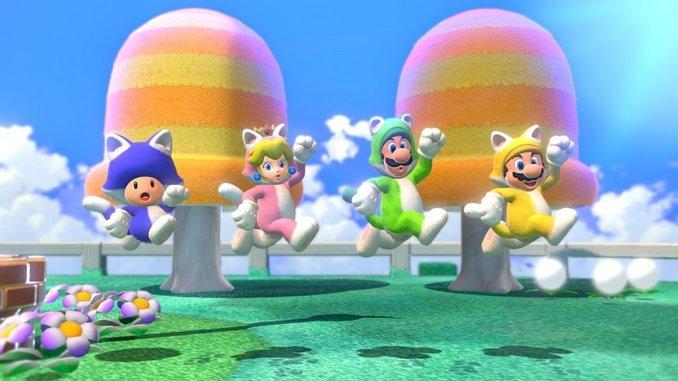 Nintendo Releases a New Trailer for <i>Super Mario 3D World + Bowser's Fury</i>