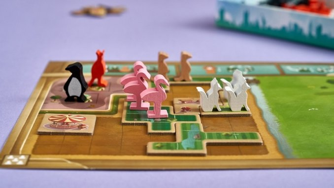 Uwe Rosenberg's Light Tile-Placement Game <i>New York Zoo</i> Is Absolutely Adorable