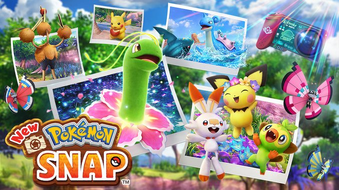 Watch a Trailer for Nintendo's New Pokémon Snap Game