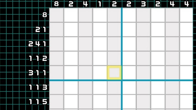 I Apologize to Anybody Who Expected Me to Do Anything This Year Other Than Play Picross