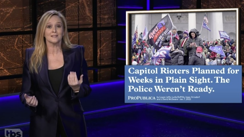 Samantha Bee Examines the GOP's Responsibility for Last Week's Violence on <i>Full Frontal</i>