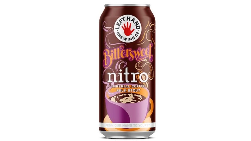 Left Hand Bittersweet Nitro Imperial Coffee Milk Stout Review