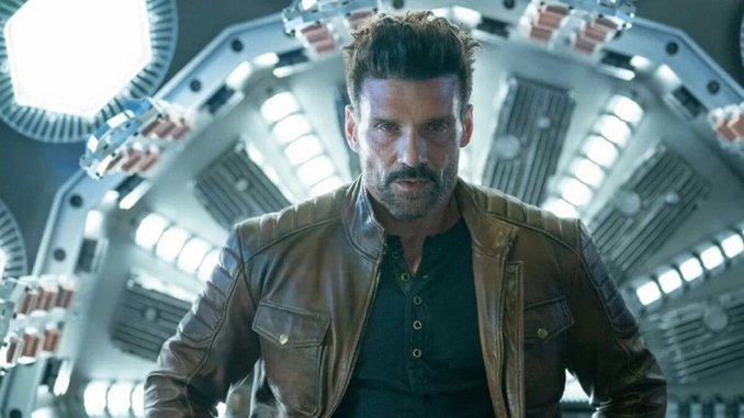 It's Frank Grillo vs. Mel Gibson in Time-Looping Action Trailer for Hulu's <i>Boss Level</i>
