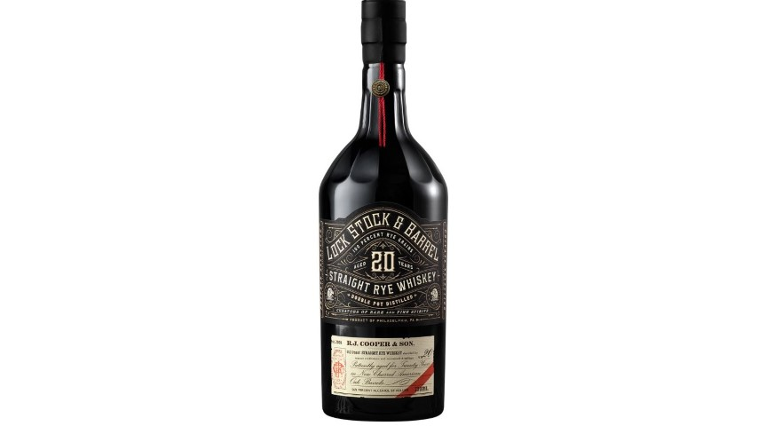 Lock Stock and Barrel 20 Year Straight Rye Whiskey Review