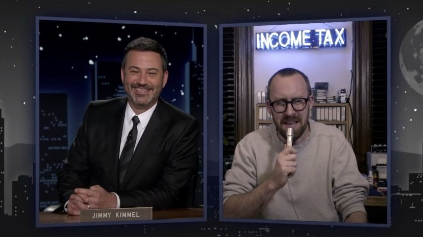 John Wilson Discusses <i>How To</i> and that Foreskin Guy on <i>Jimmy Kimmel Live</i>
