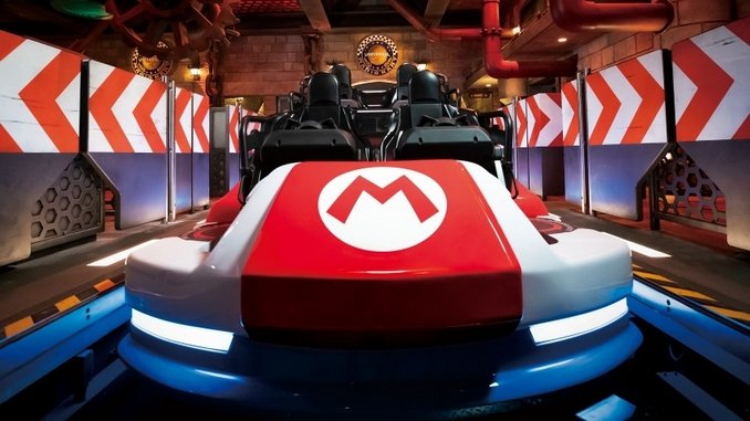 This Full Video of the Mario Kart Ride at Universal's Super Nintendo World Is Exciting