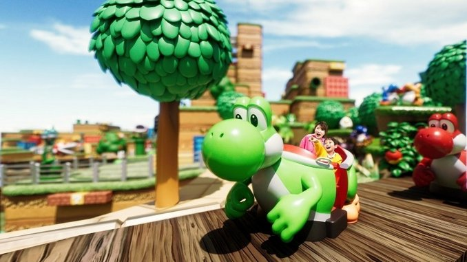 Watch a Full Video of the Yoshi's Adventure Ride at Universal's Super Nintendo World