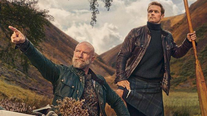 <i>Men in Kilts</i>: Sam Heughan and Graham McTavish on Reigniting Clan Feuds, Biking Scotland, and More