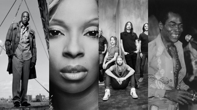 Rock and Roll Hall Of Fame 2021 Nominees: JAY-Z, Mary J. Blige, Foo Fighters, Fela Kuti, More