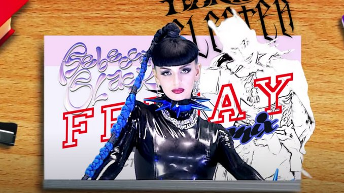 "Rebecca Black Releases ""Friday"" Remix ft. Dorian Electra, Big Freedia, 3OH!3"
