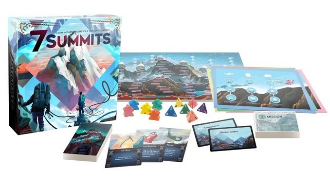 Press Your Luck with the Fantastic Board Game <i>7 Summits</i>