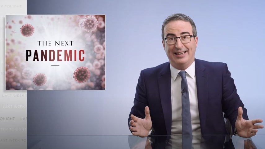 John Oliver Looks at Future Pandemics and How to Prevent Them