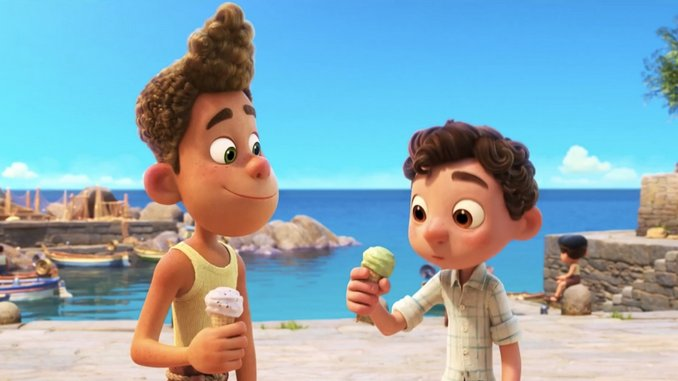 Pixar Introduces the Sweet Sea Monsters of <i>Luca</i> In First Trailer
