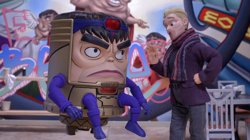 <I>Marvel's M.O.D.O.K.</I> Trailer Introduces Patton Oswalt's Megalomaniacal Supervillain