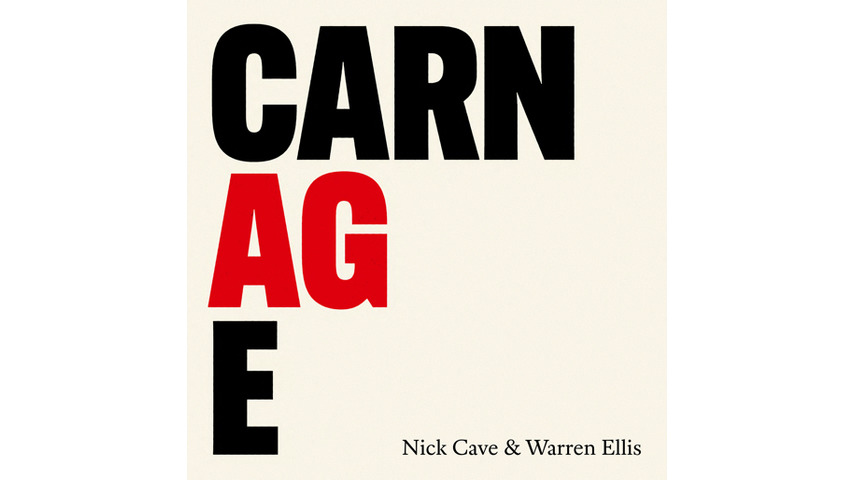 Nick Cave and Warren Ellis Survey the <i>Carnage</i> on Their First Proper Album as a Duo