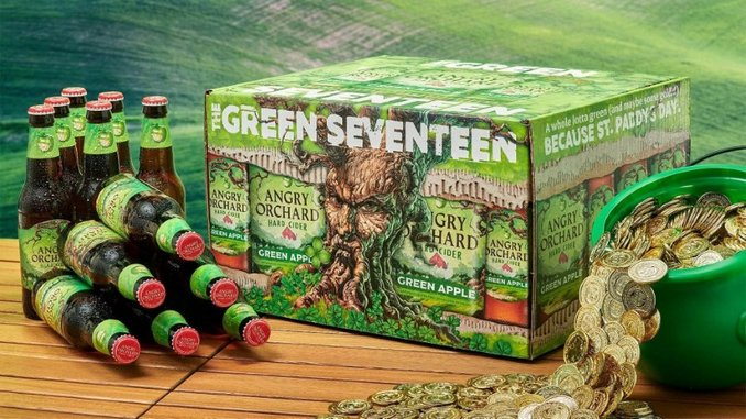 Angry Orchard Cider Is Participating in What is Essentially a St. Patrick's Day Bitcoin Lottery