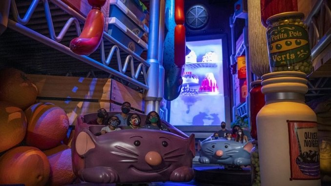 Disney World's Ratatouille Ride Gets an Opening Date