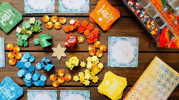 <i>Holi</i> Is a Beautiful Board Game That Prioritizes Strategy Over Luck