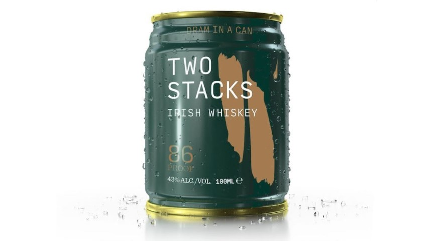 Two Stacks Irish Whiskey (In a Can!) Review