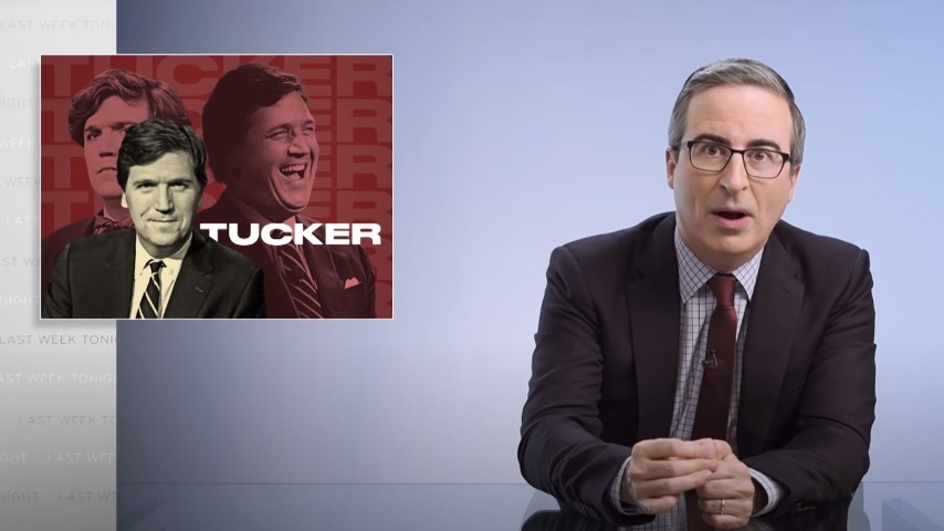 John Oliver Reminds Us that Tucker Carlson Is a Big Fan of White Supremacy