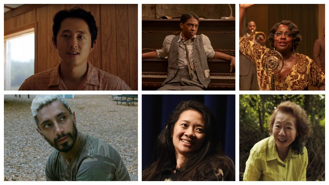 Oscars 2021: Chloe Zhao, Steven Yeun, Riz Ahmed Nominations Break Barriers