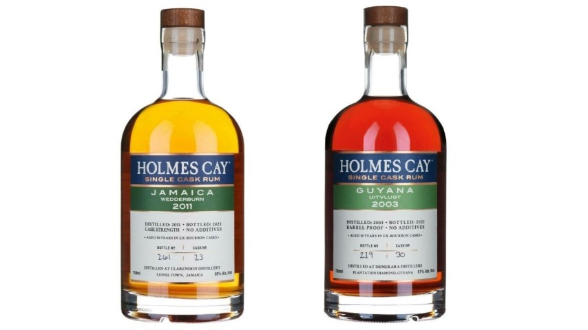 Tasting: Holmes Cay Jamaica Wedderburn 2011 and Guyana Uitvlugt 2003 Rums