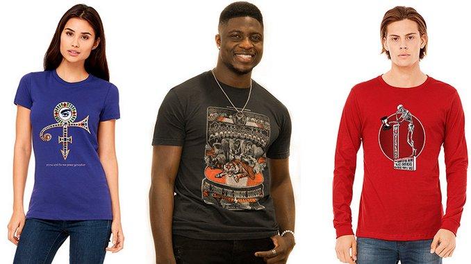 The 10 Best Retro Rock T-Shirts