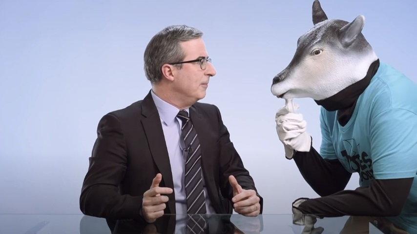 John Oliver Explains How Recycling Is a Sham and Plastics Are Everywhere, Even Inside Us