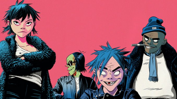 Gorillaz Are Launching NFTs in Honor of Their Self-Titled Debut Turning 20